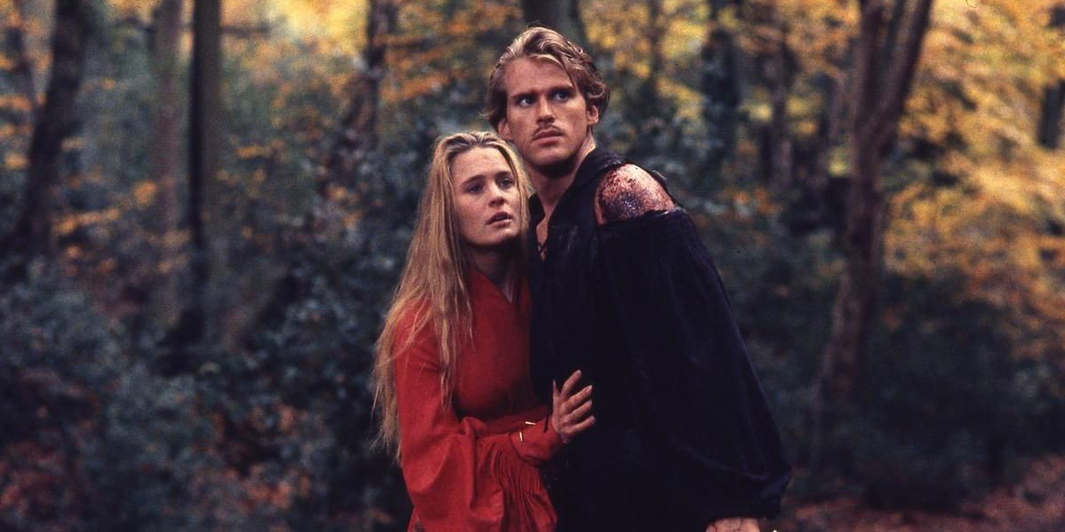Robin Wright and Cary Elwes in The Princess Bride (1987)