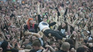 Fans at last year's Bloodstock