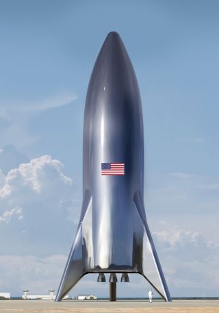 SpaceX's Starship Hopper Prototype