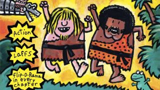cover of The Adventures of Ook and Gluk: Kung-Fu Cavemen from the Future