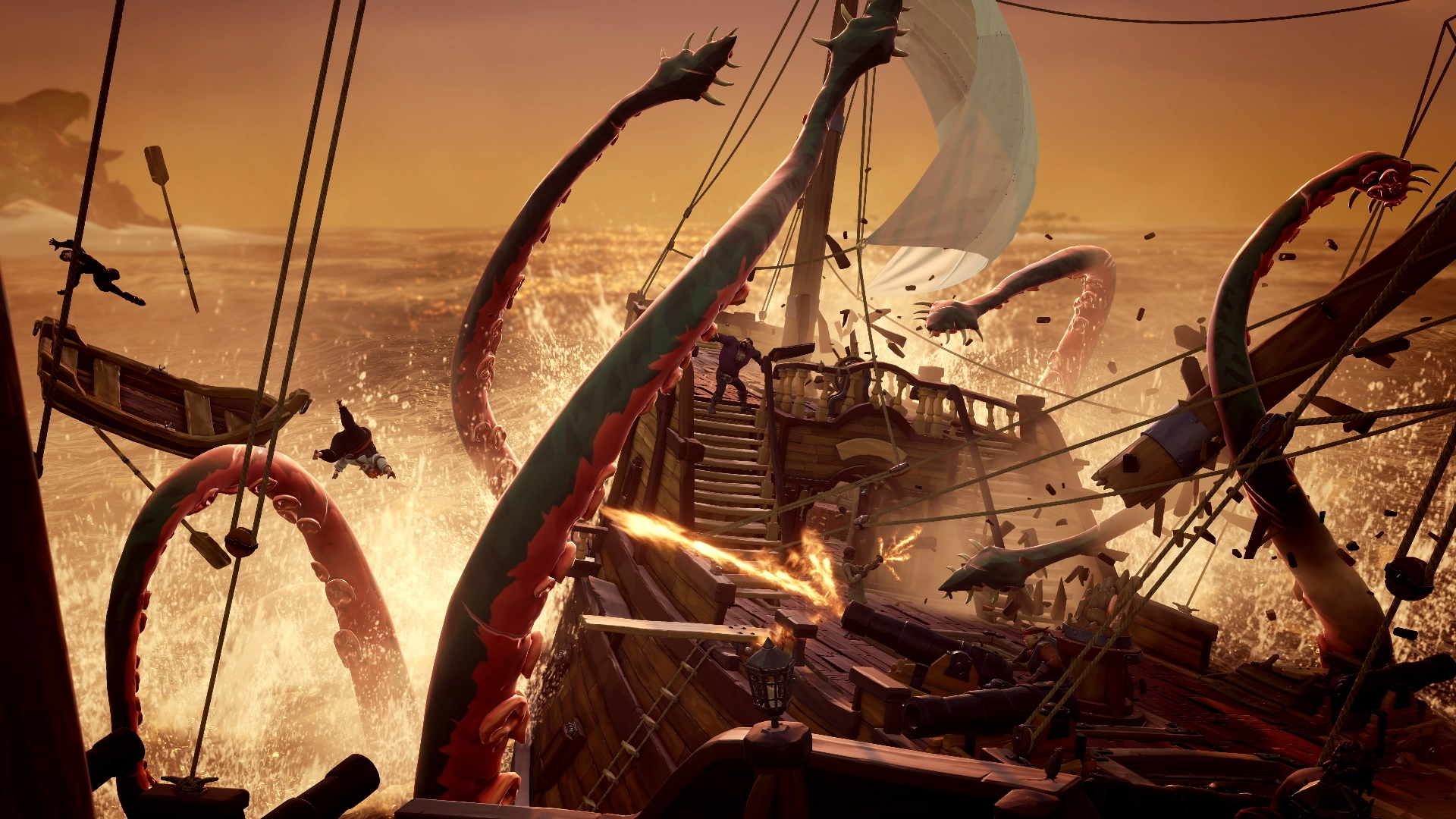 Sea Of Thieves Kraken And Endgame Explained And Rare S Post