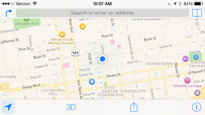 How To Use Apple Maps In Ios 7 Laptop Magazine Laptop Mag