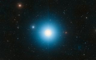A wide-field image of Fomalhaut, the 18th-brightest star in the night sky,