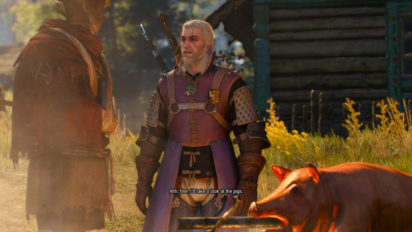 Fans remake The Witcher's prologue in The Witcher 3's engine
