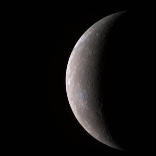 High-resolution image of Mercury