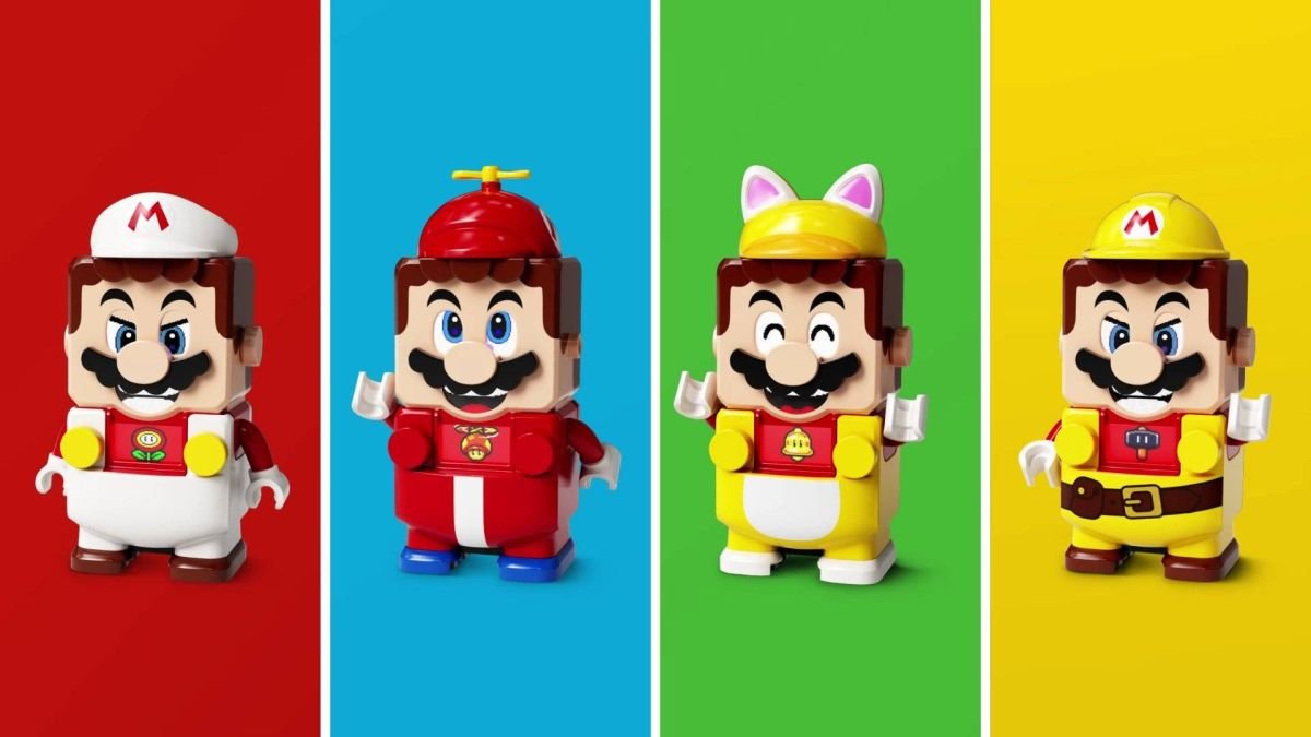 Lego Super Mario is getting a Cat Mario 'Power-Up Pack' – and it's purrfect