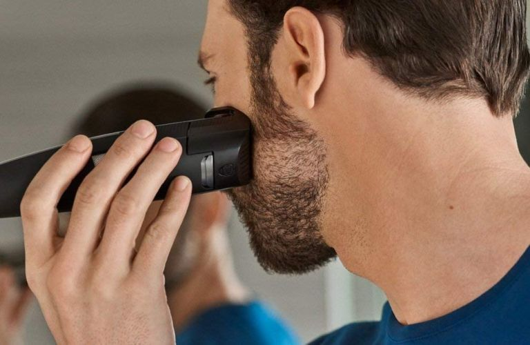 Best beard trimmer: Philips Series 9000 Laser Guided Beard and Stubble Trimmer for Precise Symmetrical Beards