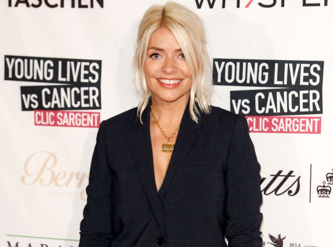 Fans are loving Holly Willoughby's classy pink check-print skirt – and it's on sale!