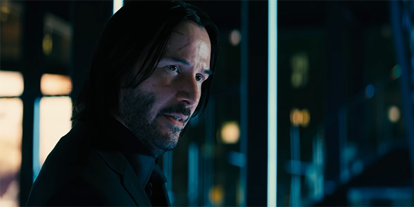 John Wick, asking for a substantial quantity of firearms