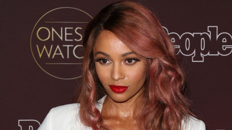 """Actress Vanessa Morgan attends People's """"Ones To Watch"""" party at NeueHouse Hollywood on October 4, 2017 in Los Angeles, California"""