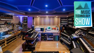 BT's synth-encrusted studio