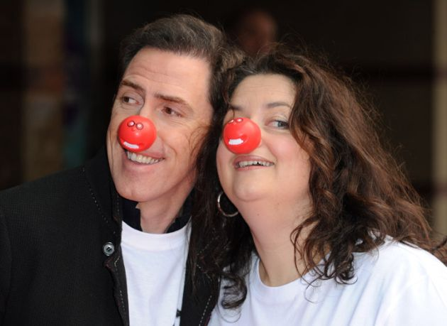 Rob and Ruth reveal the Comic Relief song (VIDEO)