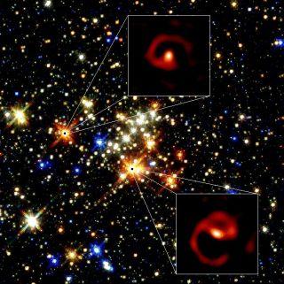 Strange Space Pinwheels Spotted