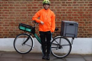Sainsbury's supermarket to trial home deliveries by bike