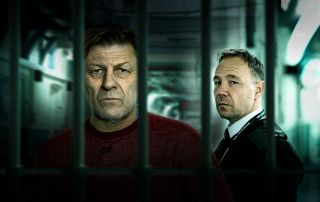'Time' stars Sean Bean and Stephen Graham play prisoner Mark Cobden and prison guard Eric McNally..