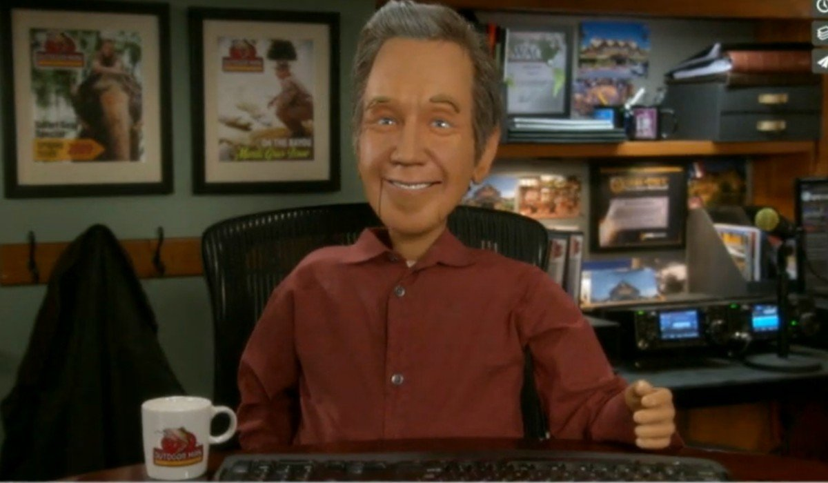 Scary Mike Baxter Puppet Last Man Standing