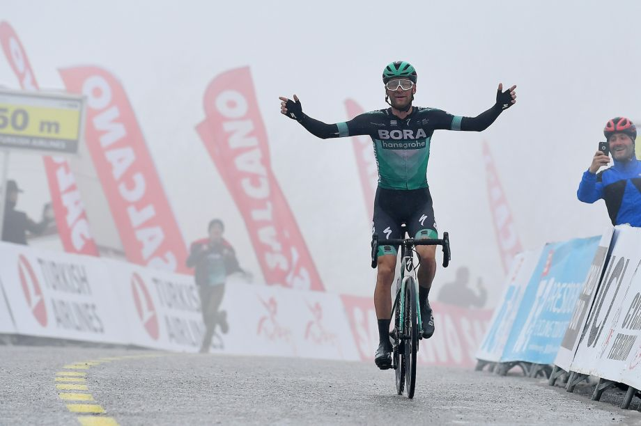 Felix Grossschartner claims stage five victory and overall lead in Tour of Turkey 2019