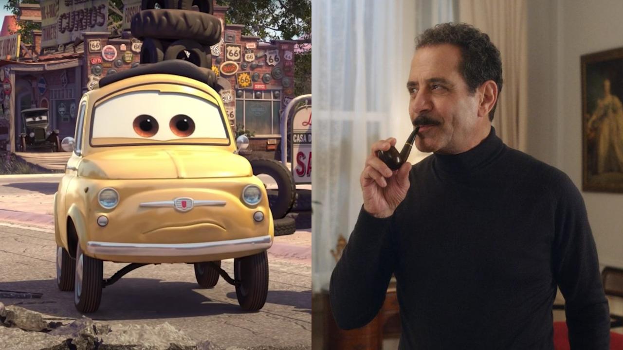 Luigi in Cars; Tony Shalhoub on The Marvelous Mrs. Maisel