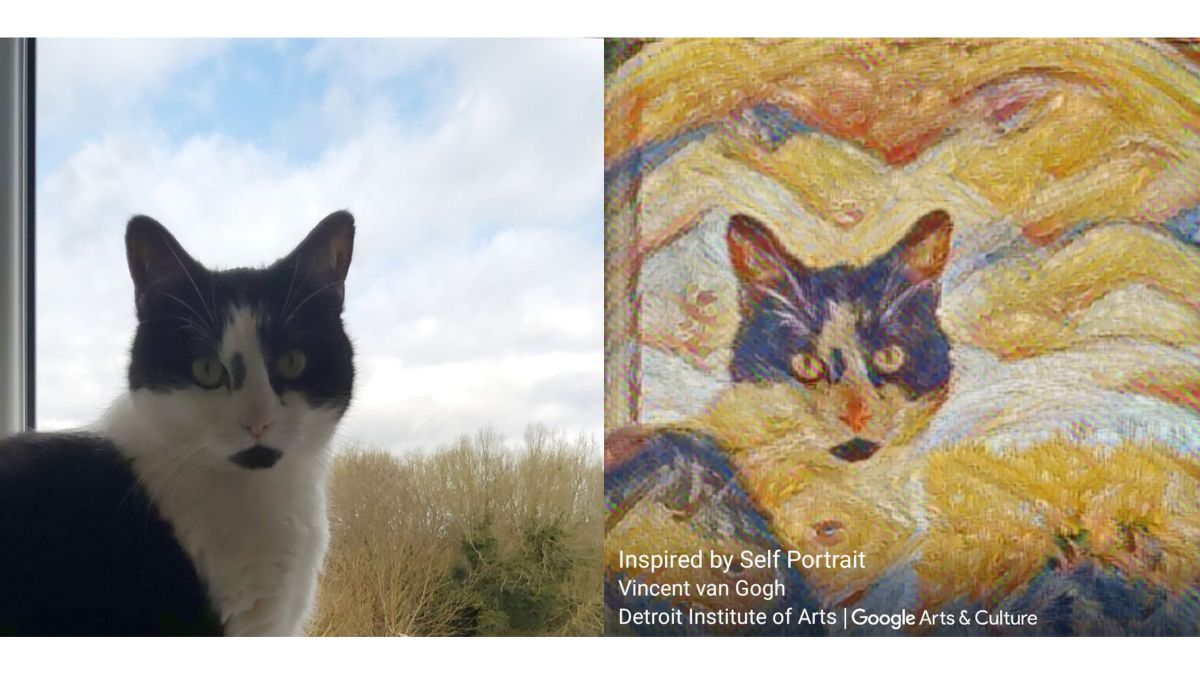 Google's art app turns you into a masterpiece