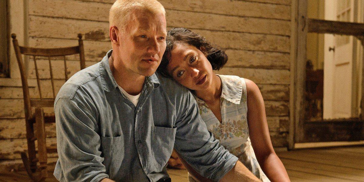 Ruth Negga and Joel Edgerton in Loving