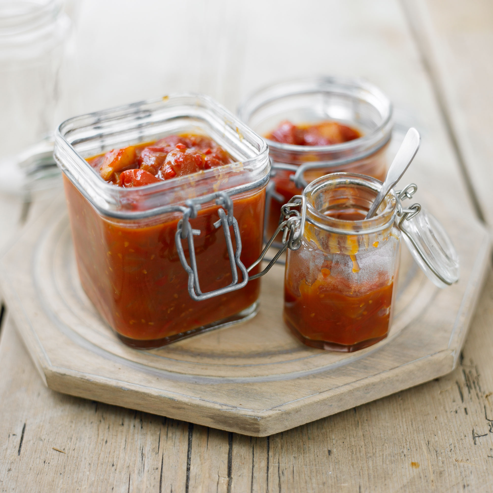 photo of step by step How to make sweet chilli chutney step FINAL
