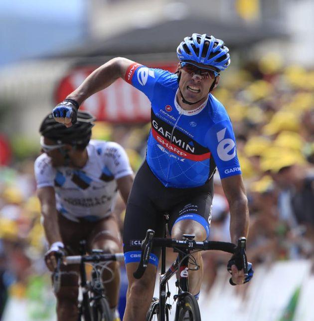 David Millar wins stage 12, Tour de France 2012