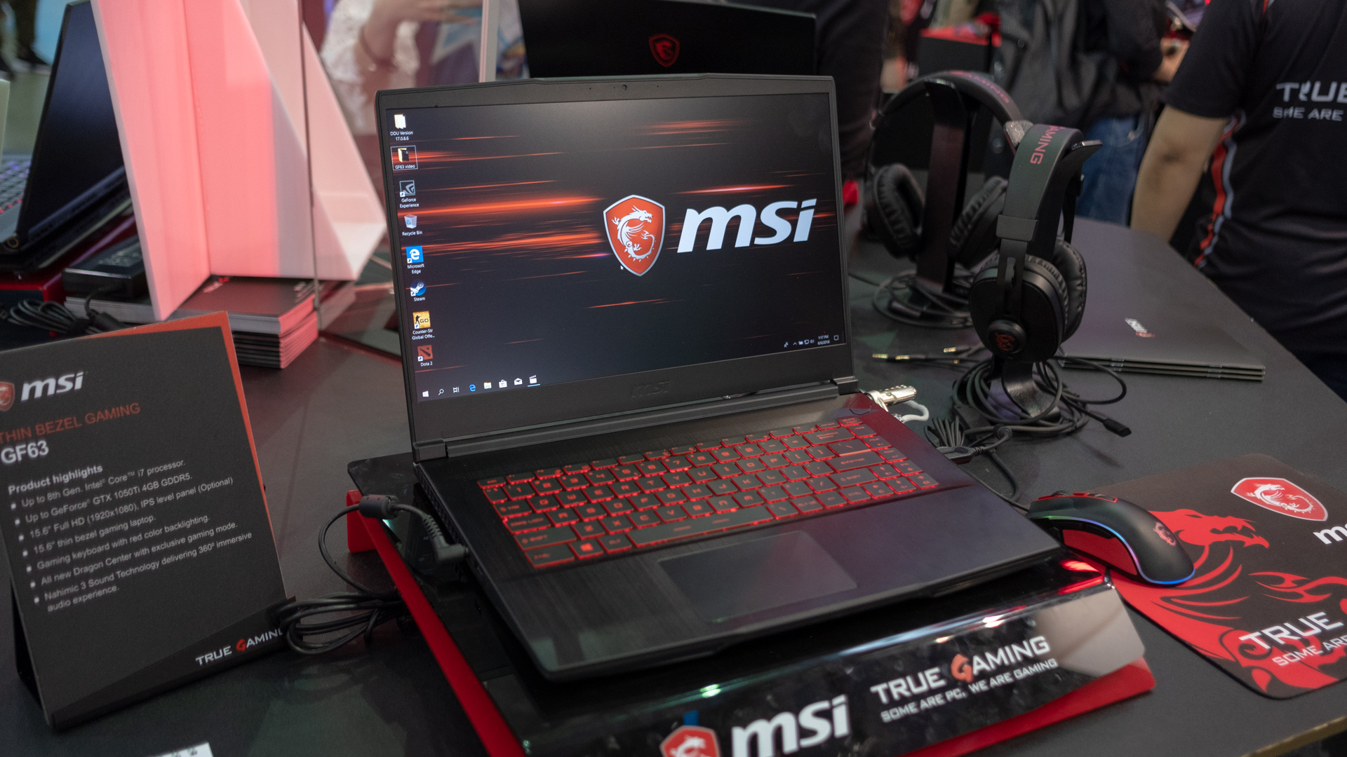 350826b294d4 Hands on: MSI GF63 review | TechRadar