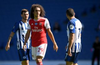 Matteo Guendouzi joined Hertha Berlin on loan having not played for Arsenal since June.