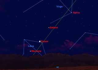 Dec. 4, 2012, Mercury Sky Map