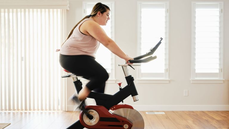 Try one of our brilliant exercise bike workouts