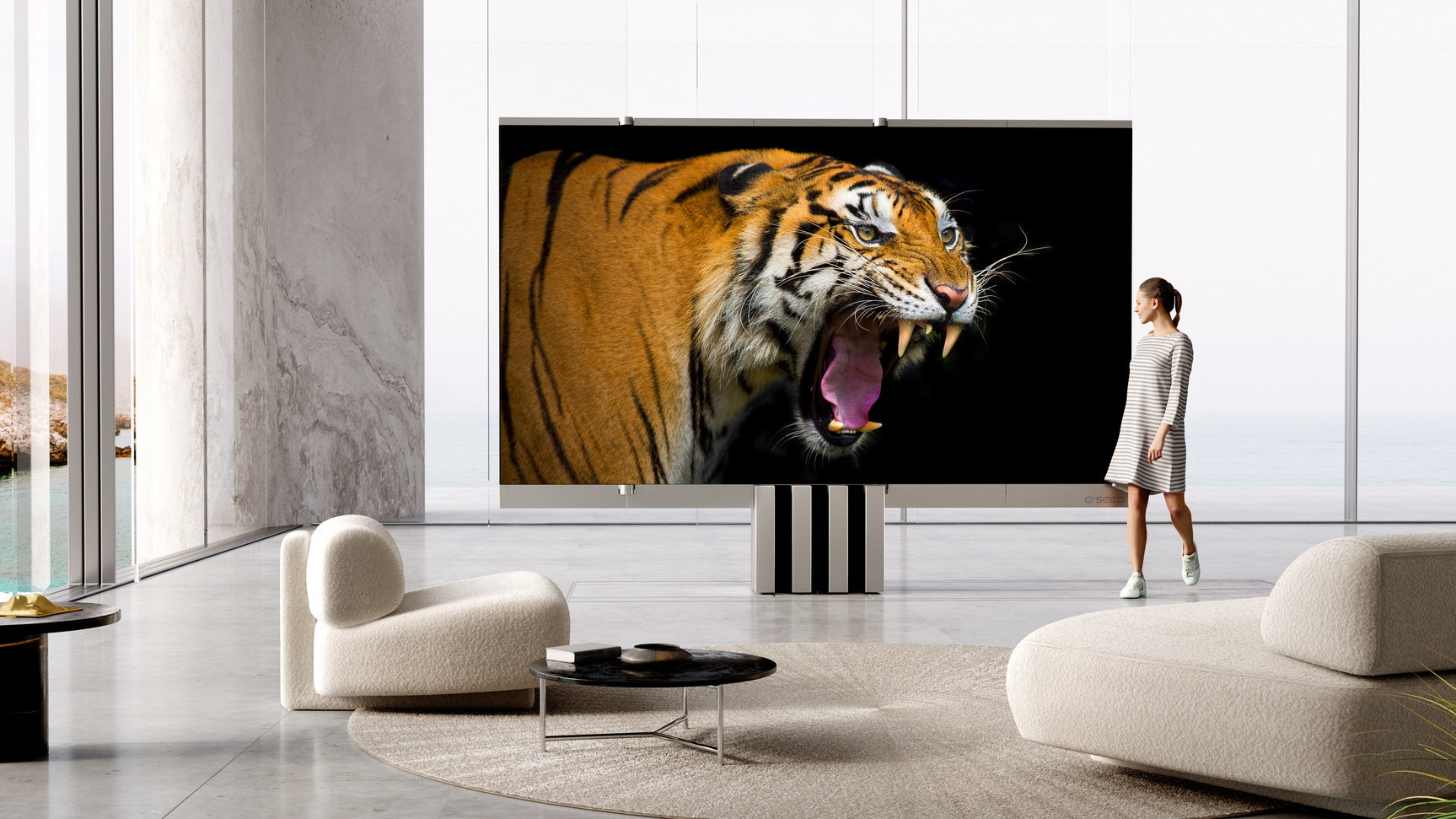The World S First 165 Inch Folding Microled Tv Yours For 400 000 What Hi Fi
