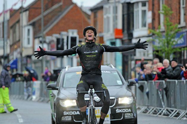 Alexandre Blain wins, Rutland-Melton International CiCLE Classic 2012