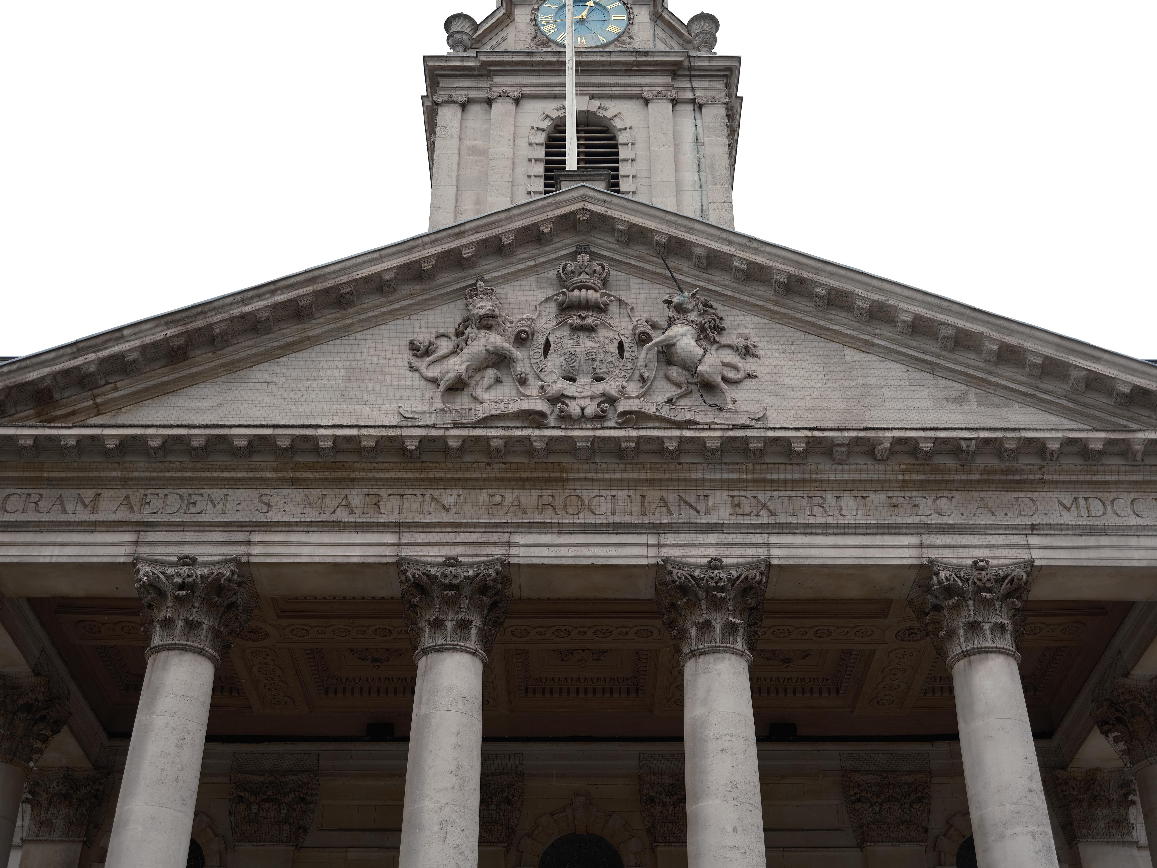 A building in London's Trafalgar Square