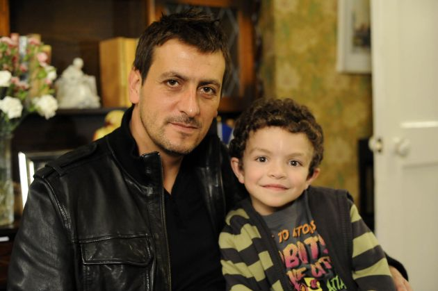 Peter Barlow a bad dad? Now that's a surprise...