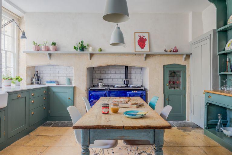 sustainable kitchen's shaker kitchen