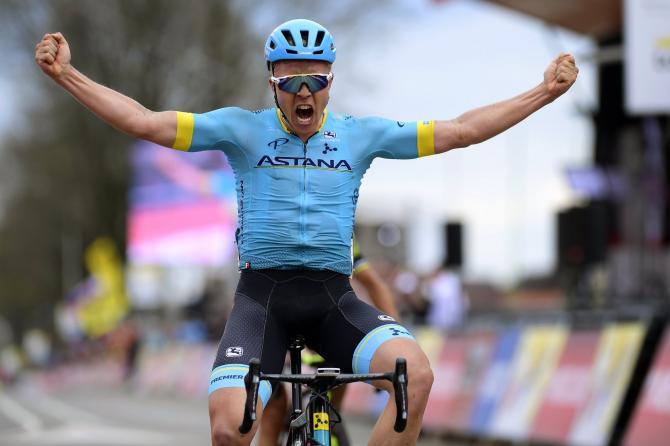 Michael Valgren (Astana) wins