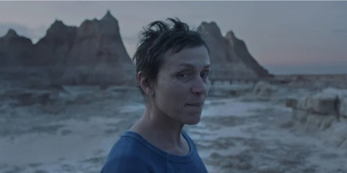Fern in in Chloe Zhao's Nomadland