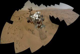 Mars Rover Curiosity Self-Portrait Dec 21
