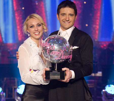Tom Chambers has been crowned Strictly Come Dancing 2008 champion