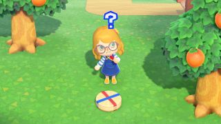 Animal Crossing: New Horizons Cheese Rolling event item