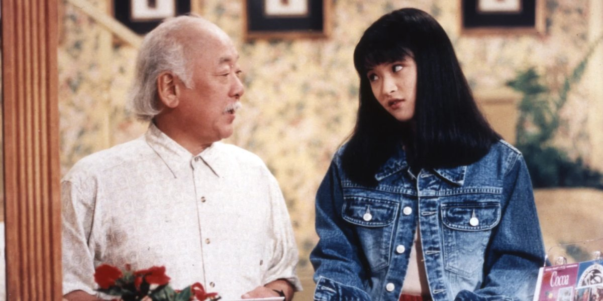 Pat Morita and Irene Ng in The Mystery Files of Shelby Woo