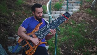 FM Guitars dual-fretboard bass