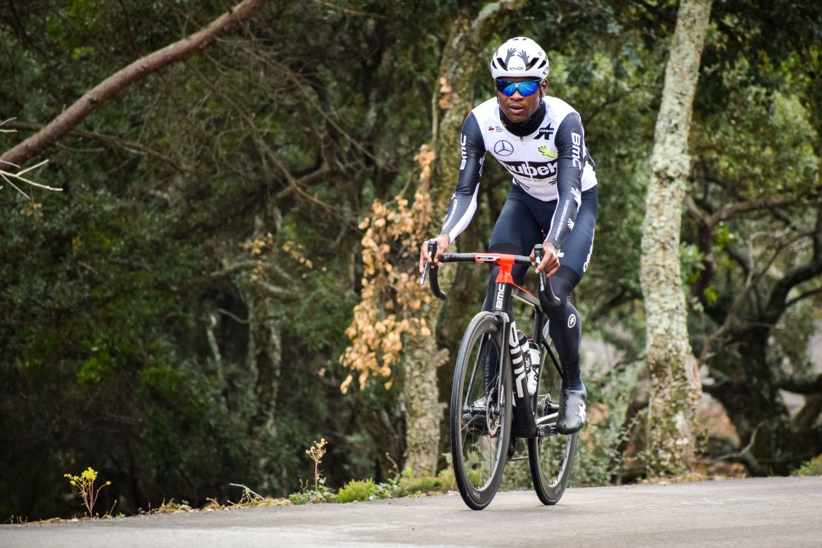 Dlamini to make history as first Black South African to compete at the Tour de France