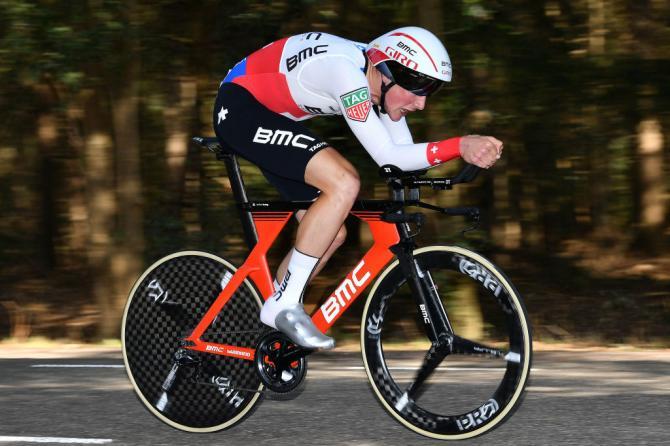 Stefan Küng (BMC Racing) en route to the victory