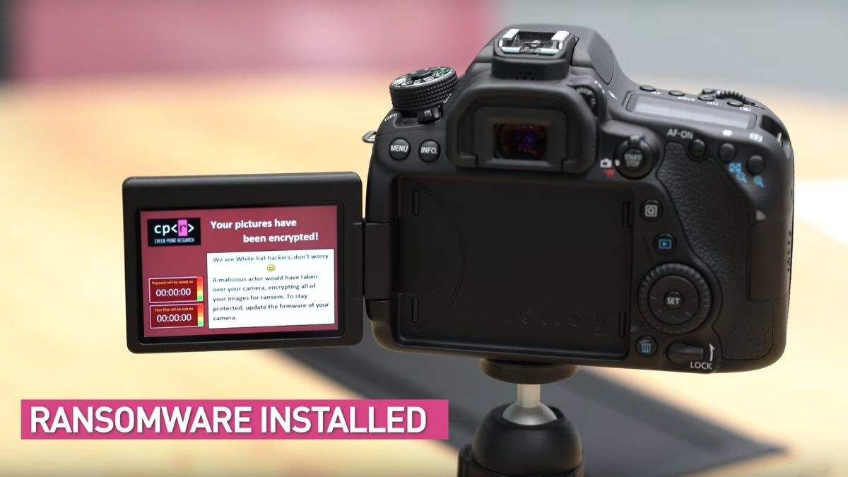 30 Canon cameras at risk of ransomware: Canon issues firmware +