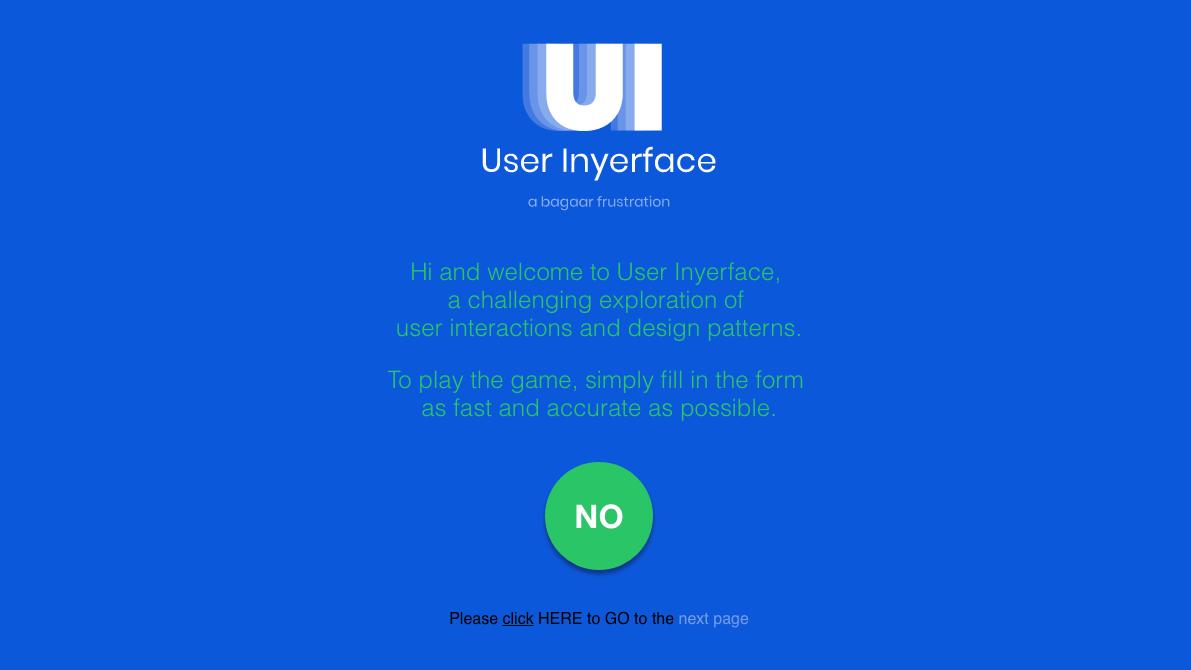 Web designers create the most annoying UI ever | Creative Bloq