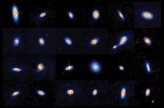 Scientists using the Karl G. Jansky Very Large Array and the Atacama Large Millimeter/submillimeter Array have imaged more than 300 newborn stars and their protoplanetary disks. The material in these disks forms new planets.