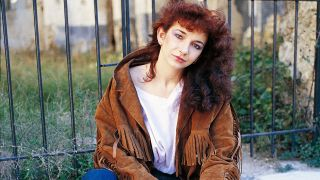 A portrait of Kate Bush in 1980