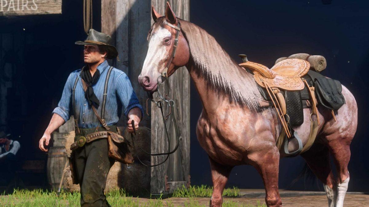 Red Dead Redemption 2 Pferde