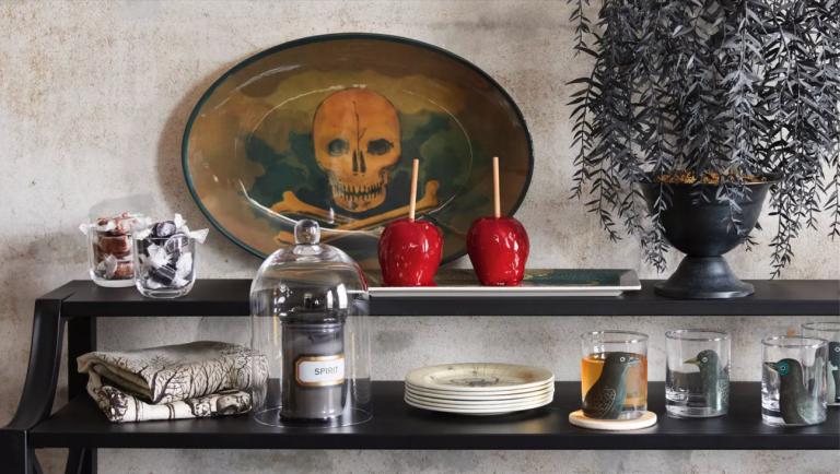 halloween decorations from John Derian x Target